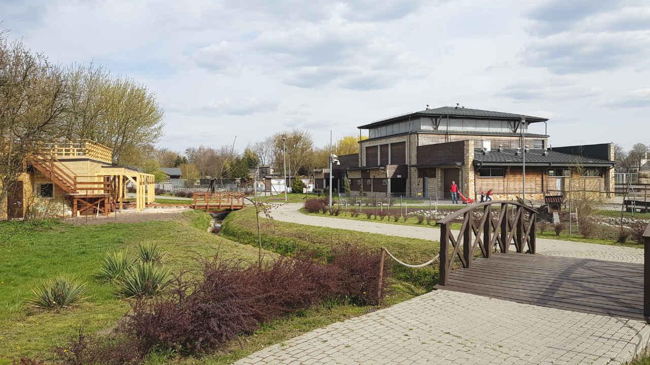 nowoczesne zoo w Zamościu