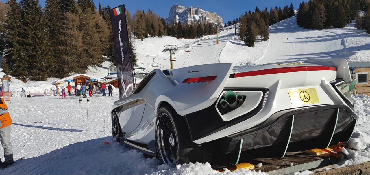 Frangivento amazing car