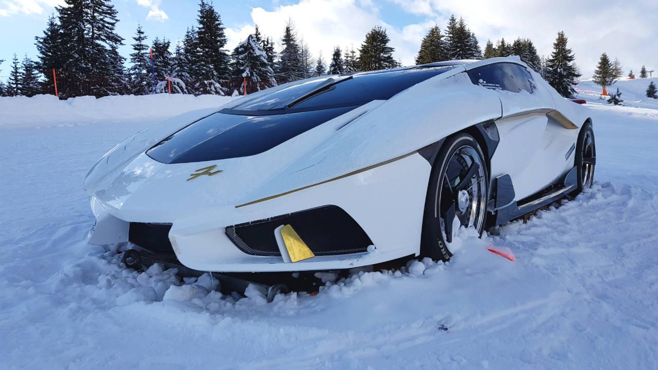Frangivento car - Italy