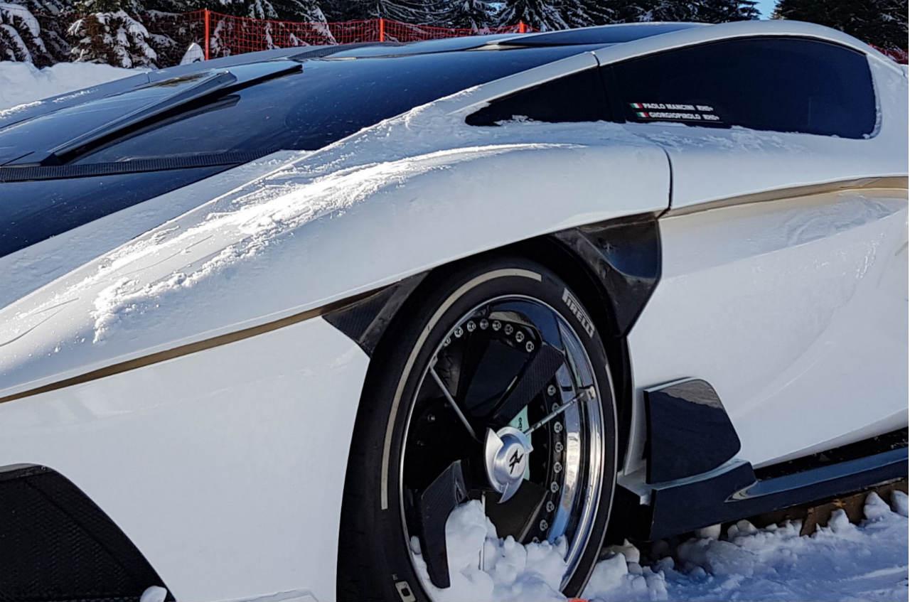 Frangivento car wheel